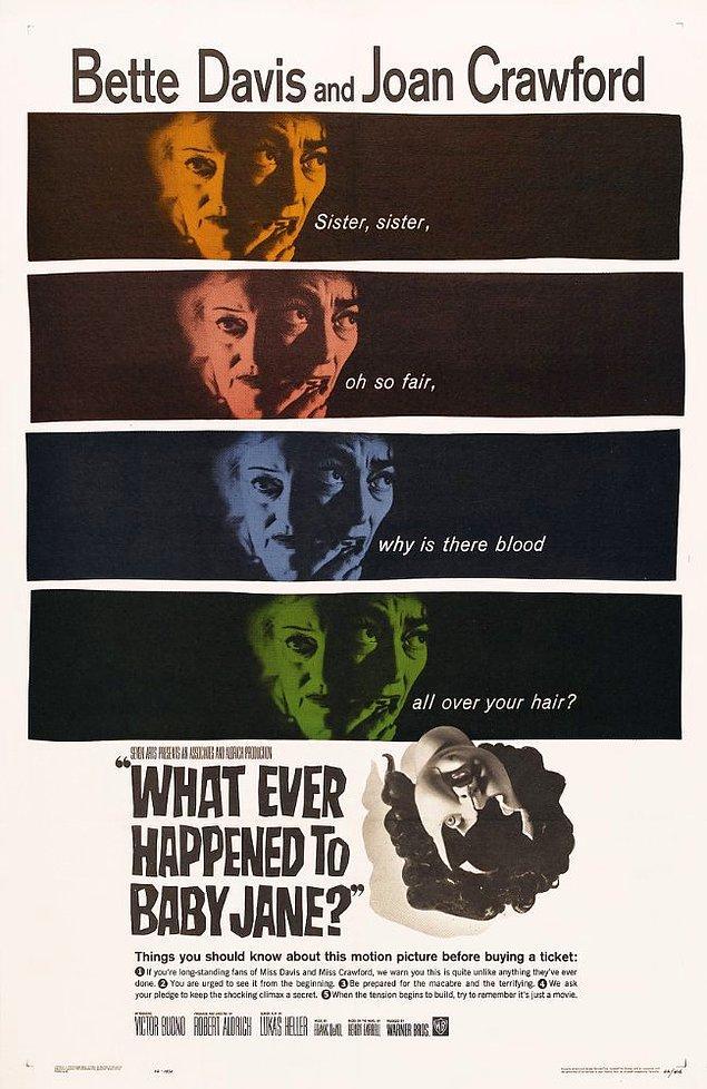 9. What Ever Happened To Baby Jane? ( Bebek Jane'e Ne Oldu?), 1962
