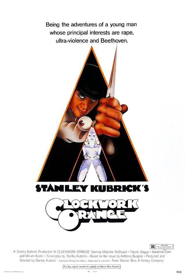 5. A Clockwork Orange ( Otomatik Portakal), 1971