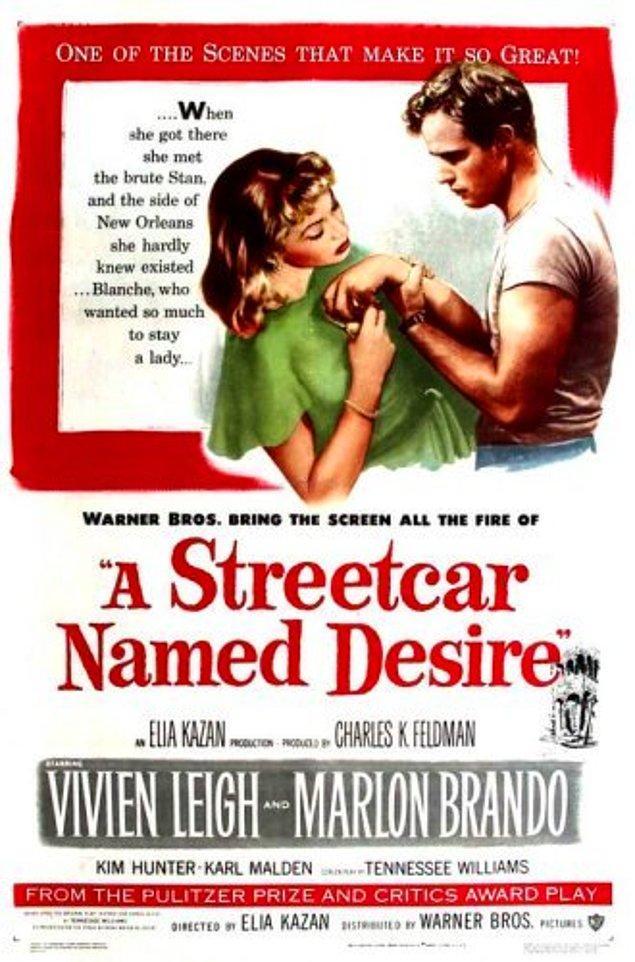 14. A Streetcar Named Desire (İhtiras Tramvayı), 1951