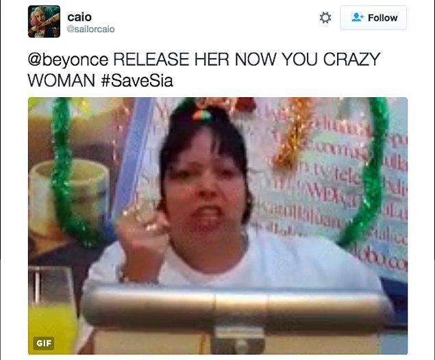 Elbette doğrudan Beyoncé'ye yazanlar da yok değildi.