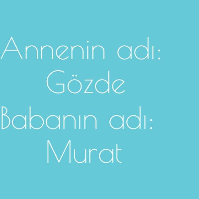 Gözde ve Murat!