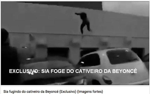 Bu iddiayı güçlendirmek için sahte bir reklam filmine photoshop yapan ve Sia'nın hapis hayatından kaçmaya çalıştığını iddia eden dahi vardı.