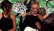 Cara Delevingne, 'Suicide Squad' Oyuncularının Meme Uçlarını Bulmaya Çalışıyor