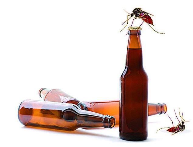 9. Bira içtiyseniz dikkatli olmakta fayda var.