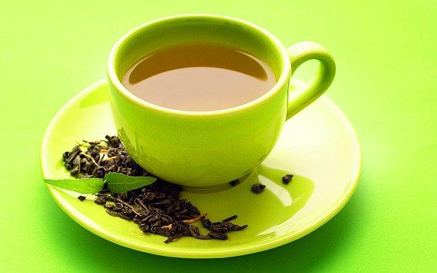 2. Yeşil çay ile devam ediyoruz.