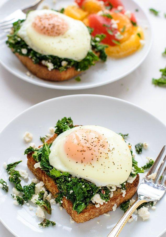 6. Kahvaltıya biraz da yeşillik eklesek süper olmaz mı?