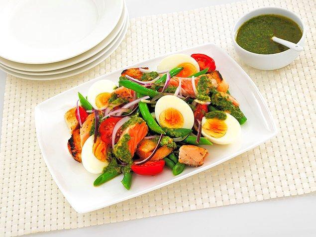 9. Bu salatayla proteine doyacaksınız!