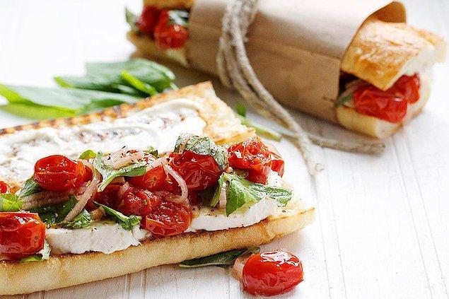 3. Çıtır çıtır bir sandviç hem de en tazesinden!