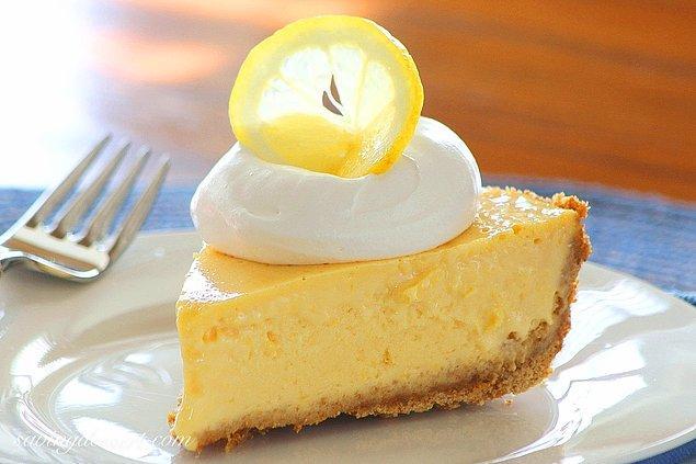 13. Son olarak mis limon kokulu bir tatlı bizlerle!