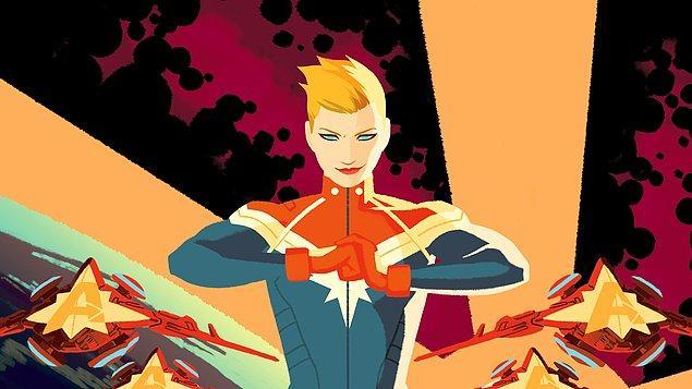14. Captain Marvel