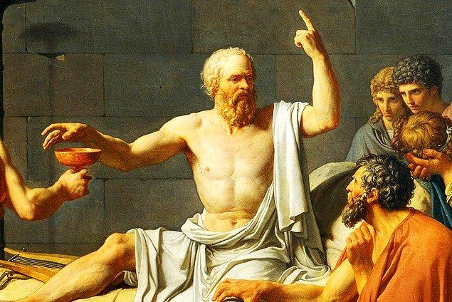 Sen Socrates'in sevgilisi olmalısın!