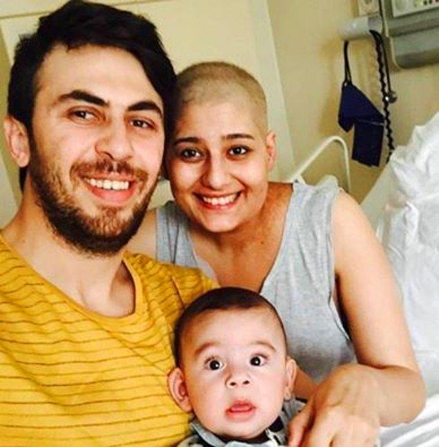 """""""Biz insanlara bu meseleyi yaymaya çalışırken yaklaşık 8 ay önce eşime lenf kanseri teşhisi konuldu."""""""