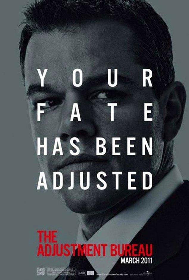 12. Kader Ajanları - The Adjustment Bureau (2011)