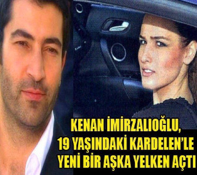 Adı ilk olarak 2010 yılında Kenan İmirzalıoğlu'yla anılmıştı.