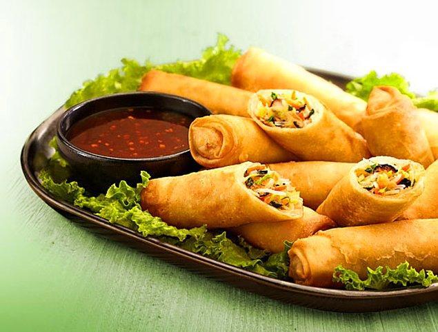 8. Asya esintili Sebzeli Çin Böreği ile devam ediyoruz.