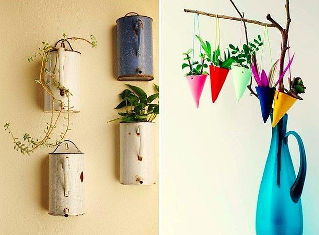 2. Çiçekleri eve taşımak güzel bir fikir!