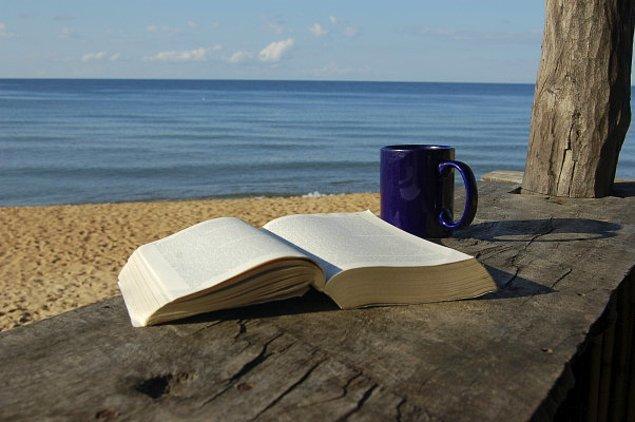 4. Eğer kitap tırt manzara iyiyse, kitabın kapağını göstermeyeceksiniz. Eksiği manzara ile kapatın. Manzara tüm kusurları kapatır.