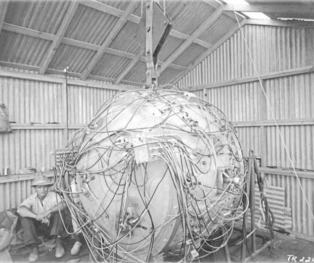 1. İlk atom bombası, Gadget.