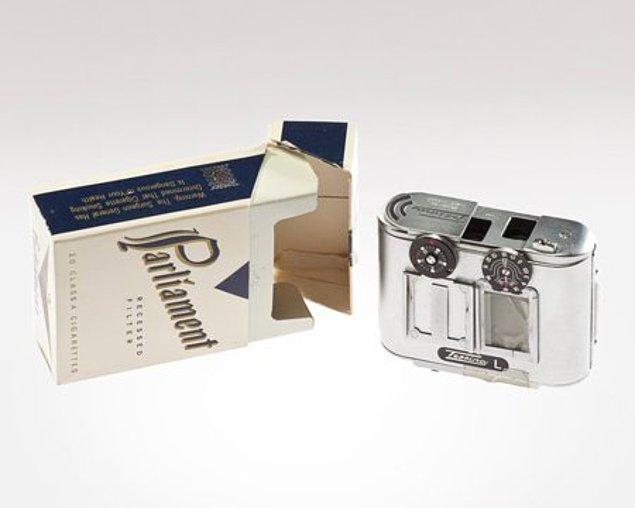 1. Bir sigara paketinin içine sığabilen kamera