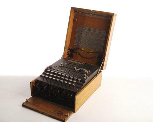 12. Enigmaları çözen makine