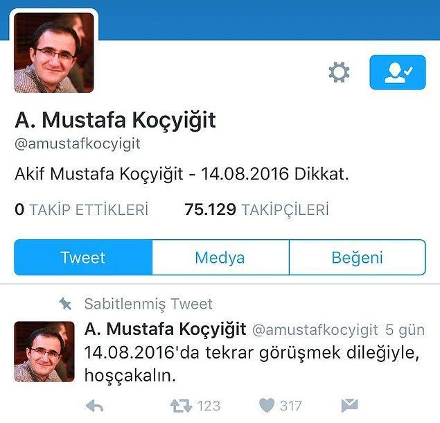 Bu isimlerden birisi de Başbakanlık'ta çalışan Mustafa Koçyiğit idi. Koçyiğit'in gözaltına alınmasının ardından, onun ismiyle abisine ait olduğu iddia edilen bir hesap açıldı ve çok çarpıcı açıklamalar yaptı.