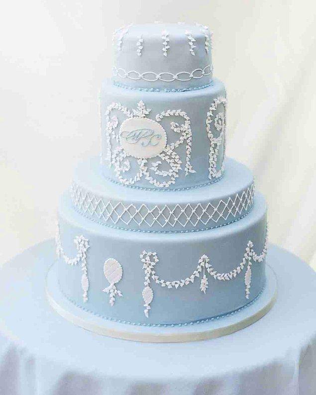 15. Peki ya konseptin dışında mavi bir keke ne dersiniz?