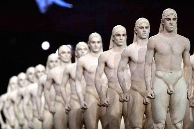 6. Yine 2004 Atina Olimpiyatları'ndan bir manzara...