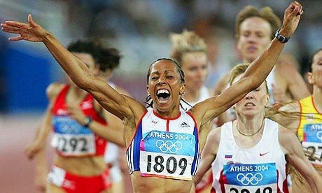 10. Kelly Holmes'un Dublesinin Atletizm Dünyasını Sallaması