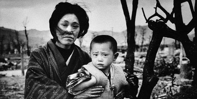 6. Nagazaki'ye atılan bomba sonucunda ölen sayısı 60 bin ile 80 bin arasındaydı.