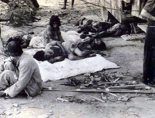 4. Japon yetkililerinin Hiroşima'ya ölümcül bir atom bombası atıldığını anlamaları tam 3 saat sürmüştü.