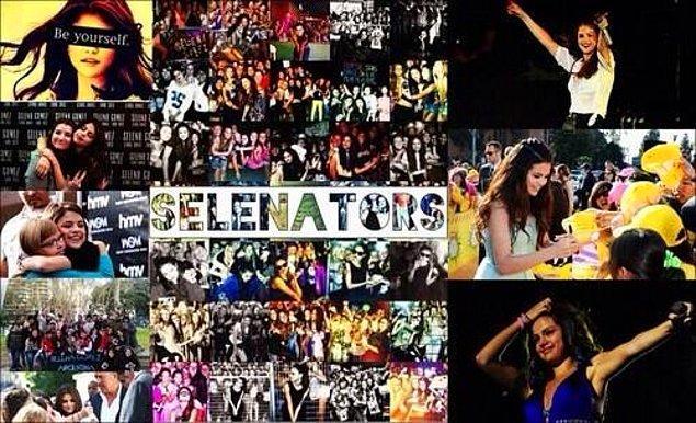 2. Selena Gomez Hayranları: Selenators