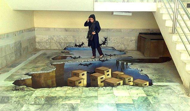 Bahsettiğimiz sanat çalışmalarının yanı sıra, halihazırda Kabil Üniversitesi'nde sanat üzerine dersler de veriyor.