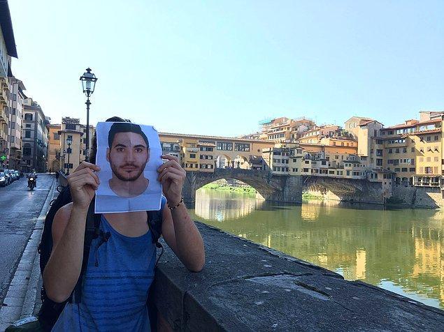 Ponte Vecchio Köprüsü'nden selam