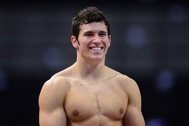 20. Alex Naddour da Amerika'dan bir jimnastikçi!