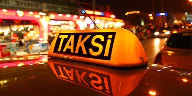 Taksiye atladın, nereye gideceksin?