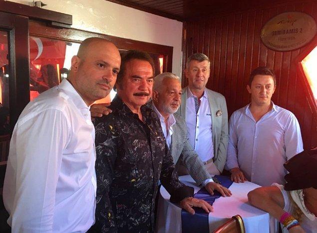 Orhan Gencebay ve Metin Şentürk
