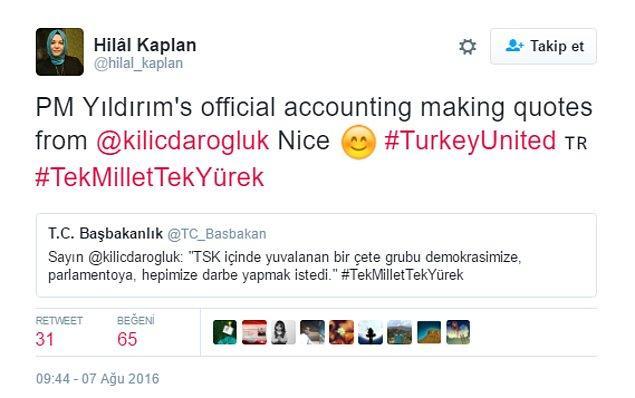 Muhalefetle arası iyi olmayan, AKP'li olarak nam salmış gazeteciler dahi Kılıçdaroğlu ve CHP'yi selamladılar.