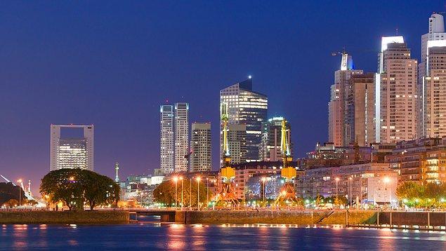 6. Arjantin'in başkenti Buenos Aires, Güney Amerika'nın Paris'i olarak adlandırılır.