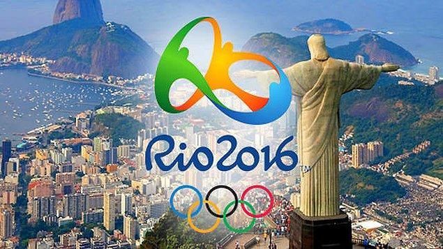 Bonus: Rio'daki tüm sporcular ve seyircilere sağlık dolu Rio günleri dileriz!