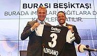 Adriano Vodafone Arena'da Yapılan Törenle Sözleşme İmzaladı
