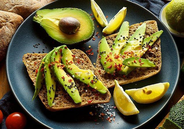 4. Yeşil mucize: Avokado