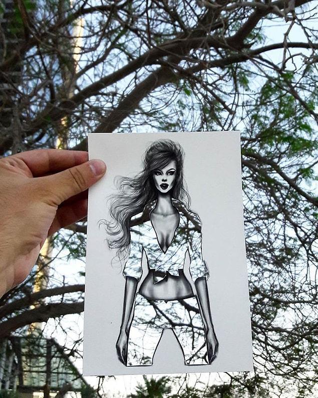Shamekh Al-Bluwi, hem moda illüstrastörü hem de mimar!