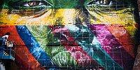 Rio Olimpiyatları İçin Yapılan ve Rekor Kıran Dev Sokak Sanatı