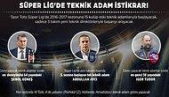 Süper Lig'de Teknik Direktör İstikrarı: Sadece 3 Takım Yeni İsimle Çalışacak