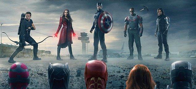 1. Kaptan Amerika: Kahramanların Savaşı / Captain America: Civil War