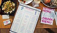 Sadece Yemeği Değil Menüyü de Heyecanla Bekleten Übersonik Havalı Menülü 15 Restoran