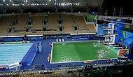 Rio'da Tuhaf Olay: Havuzun Rengi Yeşile Dönüştü