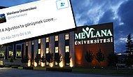 Mevlana Üniversitesi Hesabından FETÖ Propagandasına 6 Tutuklama
