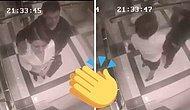 Asansörde Kendisini Taciz Eden Adama Gününü Gösteren Cesur Kadın