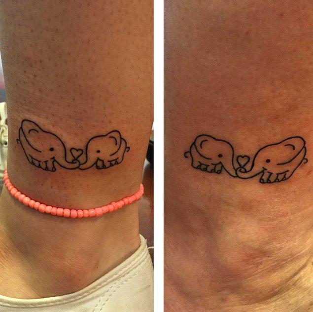 12. Bağlılığınızı anlatan minik filler.🐘🐘